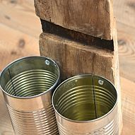 Using old cans