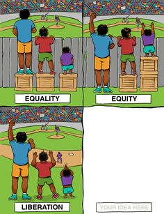 Social justice education - Equity in the Classroom Content, Pedagogy, and Results – Social justice education Social Change, Social Work, Equity Vs Equality, Racial Equality, Satirical Illustrations, Meaningful Pictures, Social Justice, Classroom, Student