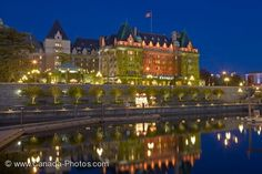 The Fairmont Empress hotel  Victoria Harbor, Vancouver Island, Canada Been there May 2, 2011