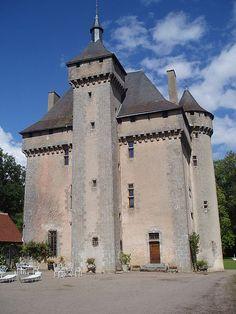 Château de la Chezotte. Ahun. Limousin