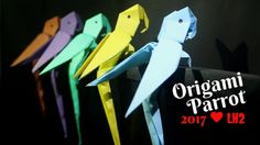 How To Make A Paper Parrot Origami Step By Step  Easy And Simple