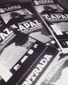"""Ya están disponibles las entradas anticipadas en South Urban y The Place para el concierto de @capaz_hp el día 12 de noviembre donde presentará """"Superhumano"""" repasará temas clásicos y estará acompañado por artistas sorpresa. Tras el concierto habrá fiesta a cargo de Dj Vadim y de Toner. Abrirán la noche Equilibrio Éspo Spok Sponha & Luto. Todo esto organizado por @mad91familia. Entradas online disponibles también en www.hiphoptickets.es  y www.ticketea.com.  #capaz #superhumano #concierto…"""