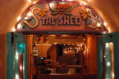 The Shed - Santa Fe, NM.  Another great place to grab a bite in a relaxed atmosphere.