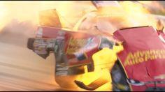 Авария на скорости 530 км/ч без пострадавших (видео)