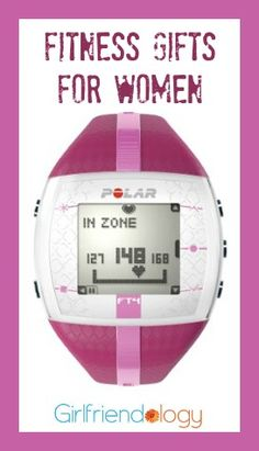 Fitness girlfriend gifts for women, including this heart rate monitor. Is it a 'New Year, New You' 2016? http://girlfriendology.com/girlfriend-gifts-gifts-for-your-fitness-friends-christmas-hanukkah-birthday-gifts/
