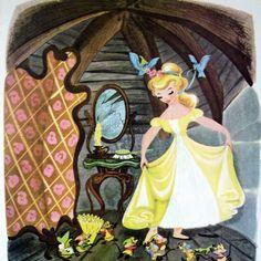 Walt Disney's Cinderella, A Big Golden Book