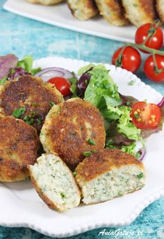Polish Recipes, Polish Food, Salmon Burgers, Food And Drink, Meat, Dinner, Cooking, Poisons, Ethnic Recipes