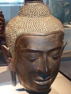 Bronze Head of Buddha -- this is beautiful!