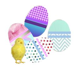 """""""Decorate New Egg"""" by bambi-52 ❤ liked on Polyvore featuring art"""