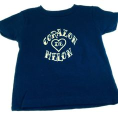 From our Dichos de Abuelita collection Corazon de Melon infant and toddler t-shirt