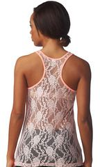 NEW Lace Back Racerback