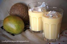 Mango kokos jogurt smoothie