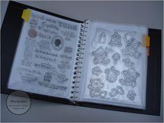 Miranda's Creaties: Orde in de knutselruimte #2: stempels
