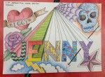 Middle [6th-8th] Lesson Plan 1-Point Perspective Name Designs Created on February 28, 2013 by MrsLeban    Students learn to draw their name ...