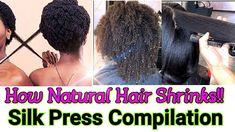 Shrinkage Natural Hair, Natural Hair Regimen, Long Natural Hair, Natural Hair Growth, Natural Hair Styles, Long Hair Styles, Type 4 Hair, Marley Twists, Silk Press