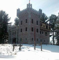 Kelley Castle  near Lake Killarny, Tomahawk, Wisconsin, USA