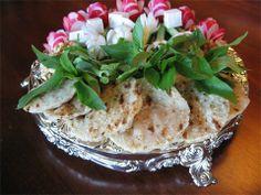 Nun Panir sabzi- bread cheese and herbs for persian wedding