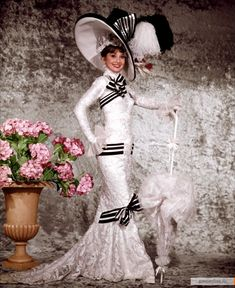 My favorite outfit from My Fair Lady.