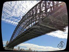 Sunny Sydney Harbour Bridge