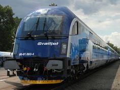 Railjet na Ostrava Rail Days