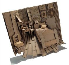 Objective : Design and build a relief sculpture using cardboard. Vocabulary : • Relief -Low -High -Sunken • Additive • Subtractive Cardboard Sculpture Reflection—answer in...