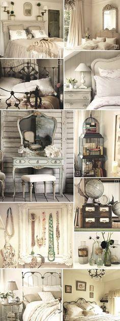 IDEAS PARA UNA DECORACIÓN VINTAGE O SHABBY CHIC Hola Chicas!! Si te gusta la decoracion vintage o shabby chic, aqui les dejo una galería de fotografías de accesorios y decoraciones para que te puedas dar una idea, la gran ventaja de este tipo de decoracion es que puedes reciclar los muebles antiguos y pintarlos de color como gris claro, azul claro, verde claro, rosa pálido, muchos de estos accesorios decorativos los vas a poder encontrar en las ferias de antigüedades o en la tiendas de…