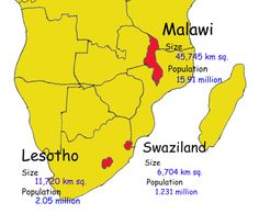 Here are the countries I want to travel to and document the vernacular architecture.  Malawi... Swaziland... Lesotho.  http://igg.me/at/mudhut