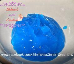 Gelatina effetto acqua/vetro (ricetta) piping gel (recipe)