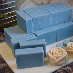 Herbs, Minerals, Micas, Flowers, and other ways you can naturally color handmade soap. Includes ingredients listed by color and how to use them.
