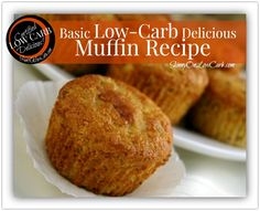 A number of you asked for a good low carb muffin recipe that you could use the sugar-free dried cranberries in.   This is the one I turn to b/c of its buttery goodness! It is great with all sorts of things added to it!  Hope this helps!