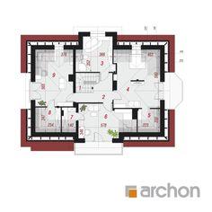 Dom w wiciokrzewie Village House Design, House Front Design, Village Houses, Classic House Design, 4 Bedroom House Plans, Architectural House Plans, Sims House, Future House, Architecture Design