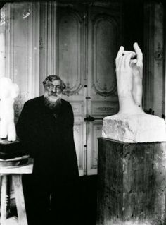 """Auguste Rodin """"...the head is everywhere"""" ( MEANING YOU DON'T HAVE TO PUT IT ON THE SCULPTURE)  ONE OF MY FAVORITE QUOTES; OVERLAPS WITH YOGA PHILOSOPHY,"""