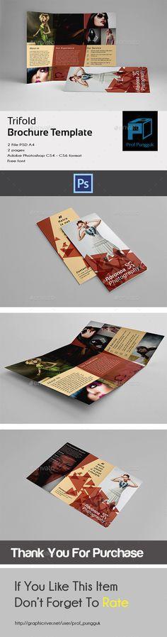 Business Brochure Volume 7 Business brochure, Brochures and - retro brochure template