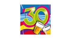 30. szülinapi parti szalvéta, Nicol Party Kellék Bolt