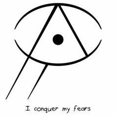 Je vaincrai mes peurs.