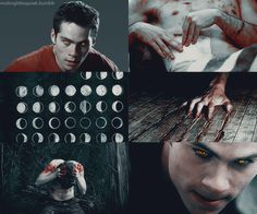 """Stiles/Were!Stiles """"After Stiles gets turned into a werewolf he struggles with control. The only thing that helps is physical contact with Derek. Teen Wolf Stiles, Teen Wolf Cast, Fan Art Teen Wolf, Teen Wolf Mtv, Teen Wolf Boys, Teen Wolf Dylan, Dylan O'brien, Teen Wolf Quotes, Teen Wolf Memes"""