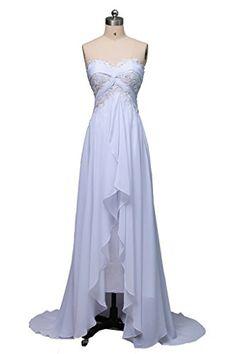 ORIENT BRIDE Strapless Beach Wedding Dresses High Low Bridal Gown Chiffon Size 16 US Ivory ORIENT BRIDE http://www.amazon.com/dp/B00WJBS3N4/ref=cm_sw_r_pi_dp_U.mCvb01A6XZS