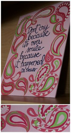 "Custom Scripture or Quote Painting - 11""X14"" Canvas. $28.00, via Etsy."