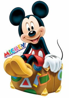 I'm glad Mickey is ready for a vacation.