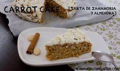 Carrot cake (tarta de zanahoria sin gluten)