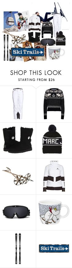 """ski holydays"" by chloebrighton ❤ liked on Polyvore featuring H&M, Polo Ralph Lauren, UGG Australia, Marc Jacobs, Christian Lacroix, Zeal Optics, iittala and Volant"