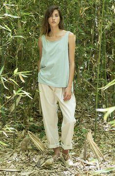 """JANIS Top Organic cotton GOTS certified Spring Summer 17 Collection nº9 Suite 13 """"heaven lab"""" organic comfort wear by Suite 13"""