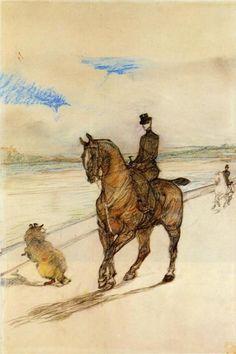 Horsewoman - Henri de Toulouse-Lautrec, 1899