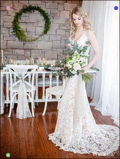 An Elegant Styled Shoot With Lace Details - WedLuxe Magazine Wedding Bouquets, Wedding Flowers, Wedding Dresses, How To Make Ribbon, Luxury Wedding, Lace Detail, Bash, Floral Arrangements, Wedding Styles
