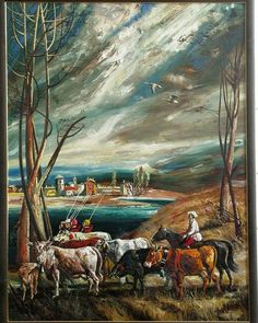 Dipinti su commissione, paesaggi, olio su tela Painting, Art, Painting Art, Paintings, Drawings