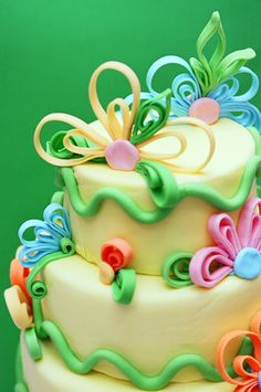 Cake, fondant