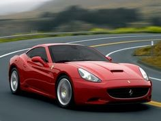 The Ferrari California was unveiled at the 2008 Paris Motor Show. The car went into production in 2008 and is still being produced by Ferrari. The car is available as a 2 door grand tourer coupe and as a hard top convertible. Luxury Sports Cars, Cool Sports Cars, Ferrari 458 Italia, New Ferrari, Ferrari Mondial, Lamborghini, Koenigsegg, Ferrari California T, Disney California