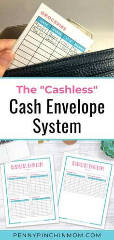 You have probably heard people talk about how to use a cash envelope budget to save money and help you get out of debt. But, what if you don't want to use cash? Here is an option for a cashless cash envelope method. Money Tips, Money Saving Tips, Envelope Budget, Cash Envelope System, Organization Skills, Cash Envelopes, Managing Your Money, Budgeting Money, People Talk