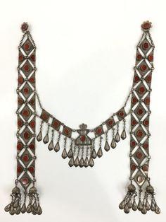 Turkmenistan Traditional Tribal (Ersary) Silver Headress