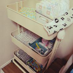 赤ちゃんグッズ/おむつ収納…などのインテリア実例 - 2015-10-23 16:23:49   RoomClip(ルームクリップ)